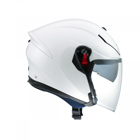 Casca AGV K-5 JET E2205 MONO - PEARL WHITE1