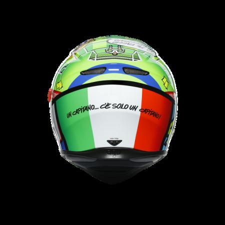 CASCA AGV K3 SV E2205 TOP - ROSSI MUGELLO 2017 [4]