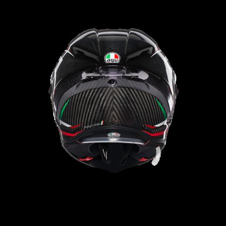 Casca AGV PISTA GP R E2205 MULTI - STACCATA CARBON/RED5
