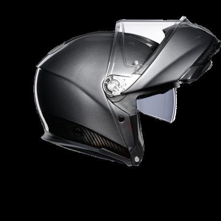 Casca AGV SPORTMODULAR MONO E2205 - CARBON/DARK GREY3