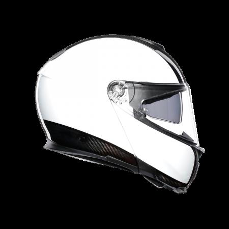 Casca AGV SPORTMODULAR MONO E2205 - CARBON/WHITE2