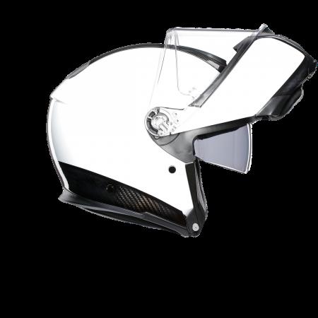 Casca AGV SPORTMODULAR MONO E2205 - CARBON/WHITE3
