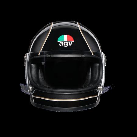 Casca AGV X3000 MULTI E2205 - SUPER AGV BLACK/GREY/YELLOW1