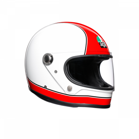 Casca AGV X3000 MULTI E2205 - SUPER AGV RED/WHITE0
