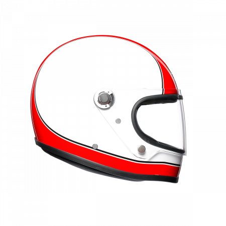 Casca AGV X3000 MULTI E2205 - SUPER AGV RED/WHITE3