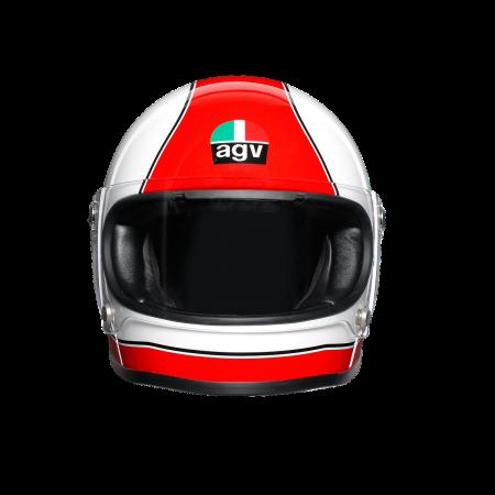 Casca AGV X3000 MULTI E2205 - SUPER AGV RED/WHITE1