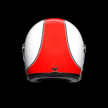 Casca AGV X3000 MULTI E2205 - SUPER AGV RED/WHITE2