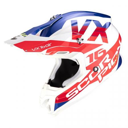 Casca Cross-Enduro Scorpion Exo VX-16 Air X-Turn