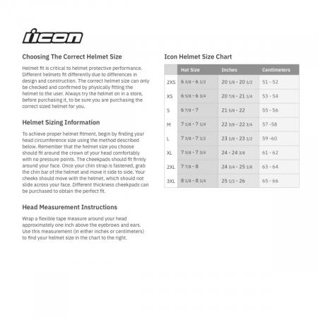 Casca Icon Airflite Raceflite Negru XS [3]