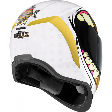 Casca Icon Airfrom Grillz Alb XS [2]