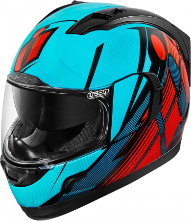 Casca ICON ALLIANCE GT PRIMARY BLUE/RED/BLACK X-LARGE