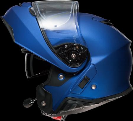 CASCA SHOEI Neotec-II matt blue met.8