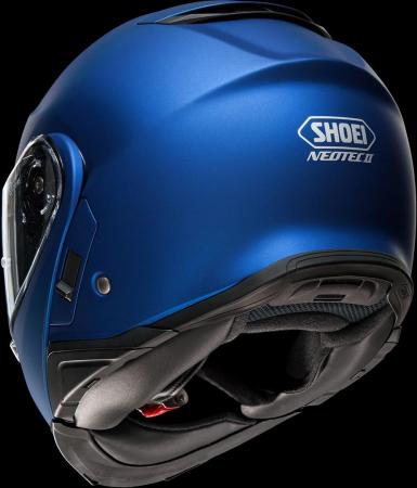 CASCA SHOEI Neotec-II matt blue met.4