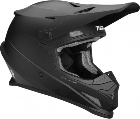 Casca THOR SECTOR S9 OFFROAD  BLACK MATTE X-SMALL