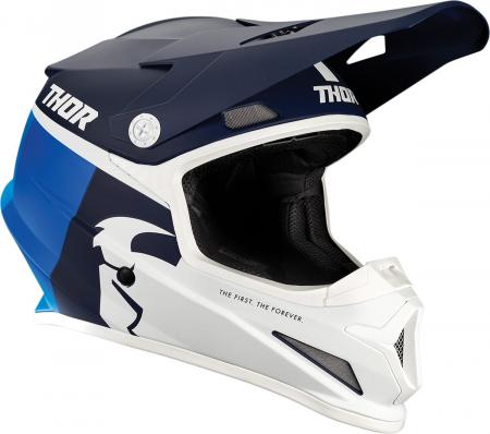Casca THOR SECTR RACER NV/BL XL
