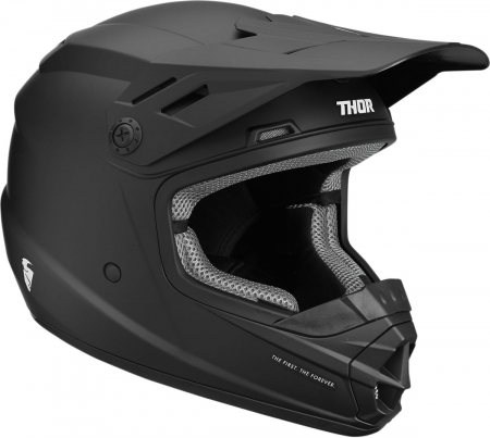 Casca THOR YOUTH SECTOR S9Y OFFROAD  BLACK MATTE SMALL