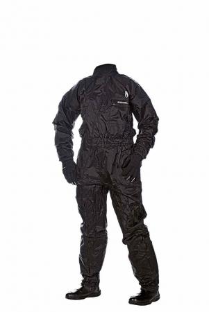 Costum ploaie Simple Negru