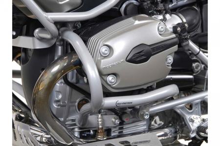 Crash Bar Argintiu. Capac motor. BMW R 1200 GS 2004-2012 [0]