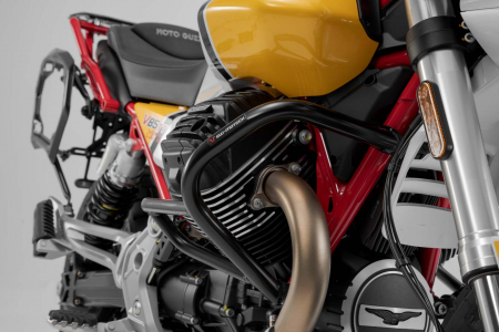 Crash bar negru Moto Guzzi V85 TT (19-). [2]