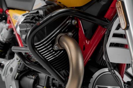 Crash bar negru Moto Guzzi V85 TT (19-). [3]