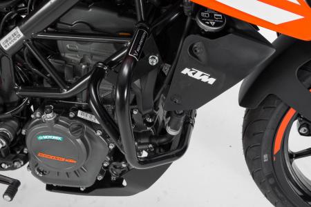 Crash bar negru KTM 125 (11-) / 200 Duke (11-16). [2]