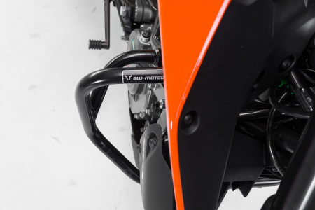 Crash bar negru KTM 125 (11-) / 200 Duke (11-16). [3]