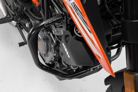Crash bar negru KTM 125 (11-) / 200 Duke (11-16). [1]