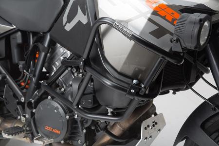 Crash Bar superior pentru crash bar original negru KTM 1050 (14-)/ 1190 Adventure/ R (13-). [3]