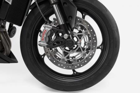 Crash pad ax roata fata Moto-Guzzi V85TT Trav [1]