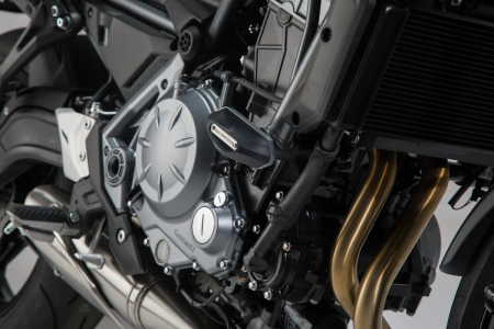 Slider set pentru frame Negru. Kawasaki Z650 16- Ean: 40525720419870