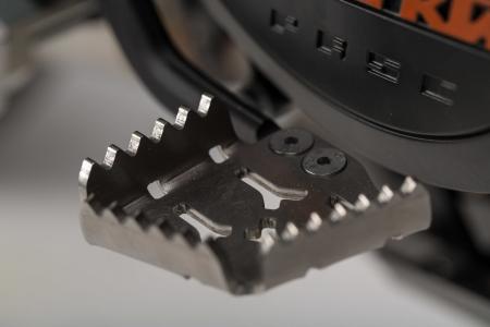 Extensie Pedala Frana Argintiu KTM Adventure 990/1050/1190/1290 / SMR. [1]