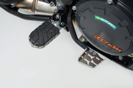 Extensie Pedala Frana Argintiu KTM Adventure 990/1050/1190/1290 / SMR. [0]