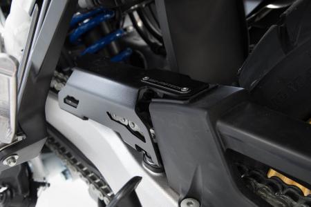 Extensie protectie lant Aluminium. Negru. Honda CRF 1000L Africa Twin (15-) [0]