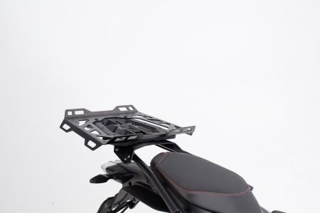 Extensie suport bagaje pentru Street-Rack 45x30 cm. Quick-Lock. Aluminium. Negru0