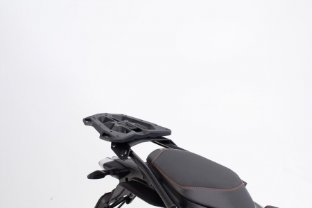 Extensie suport bagaje pentru Street-Rack 45x30 cm. Quick-Lock. Aluminium. Negru1