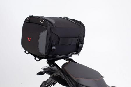 Extensie suport bagaje pentru Street-Rack 45x30 cm. Quick-Lock. Aluminium. Negru3