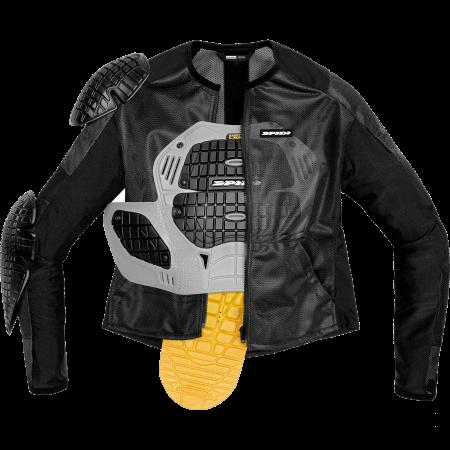 Geaca cu armura Spidi BASE-1 Textil [0]