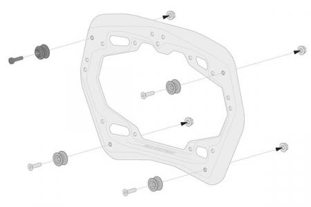 Genti laterale SysBag 30/30 cu sistem fixare pentru Yamaha Tracer 9 (20-) [5]