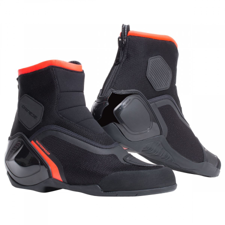 DAINESE DINAMICA D-WP SHOES BLACK/FLUO-RED marime 39
