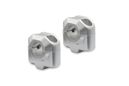 Inaltator ghidon 22 mm H=25 mm. Argintiu