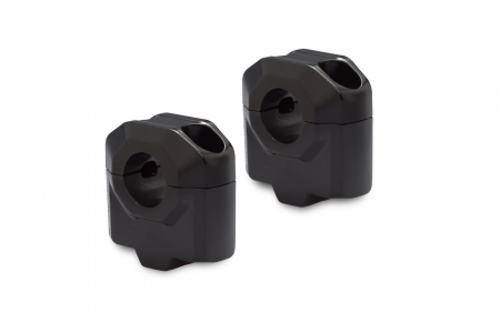 Inaltator ghidon 22 mm H=30 mm. Negru