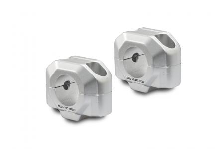 Inaltator ghidon 28 mm H=20 mm. Argintiu