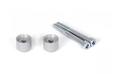 Inaltator ghidon Argintiu. H=20 mm. BMW F 650/700 GS, F800GS/Adv.