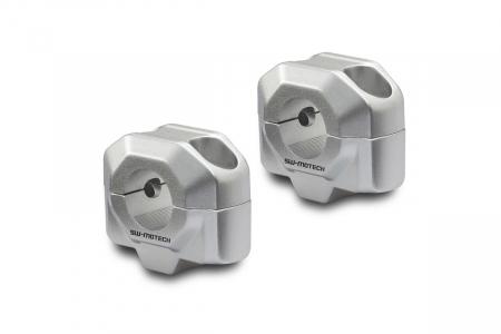 Inaltator ghidon D. 22 mm H=20 mm Argintiu [0]