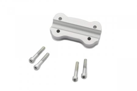 Inaltator ghidon D. 22 mm. h 20 mm. Argintiu.