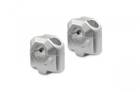 Inaltator ghidon D. 22 mm H=25 mm Argintiu