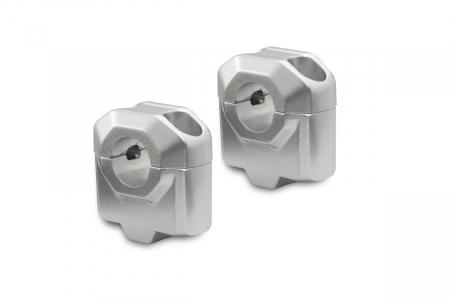 Inaltator ghidon D. 22 mm H=30 mm Argintiu
