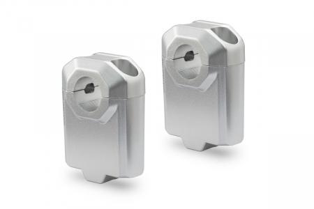 Inaltator ghidon D. 22 mm H=50 mm Argintiu