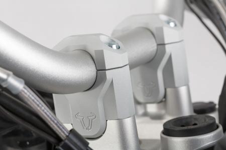 Inaltator ghidon D. 32 mm. h 40 mm. Argintiu.