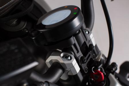 Inaltator ghidon H=20mm. Negru Yamaha XSR 700 2016- [1]